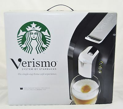 Starbucks Verismo 580 Single 1-Cup Coffee Maker Brewer System kfee espresso NEW