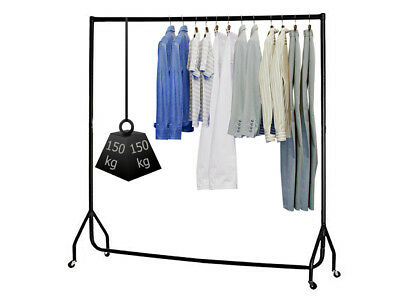 Clothes Rail Rack Shop Display Rail Hanging Rack 3, 4, 5 or 6ft Heavy Duty