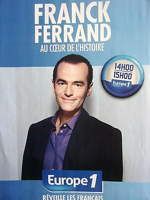 Publicite Advertising 065 2008 Europe 1 Radio Frederic Taddei Breweriana, Beer Other Breweriana
