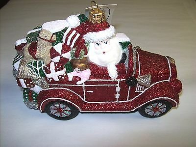 """Winter Wheels Red"" 2015 by Mattarusky Heirloom Ornaments - Made in Poland (#8)"