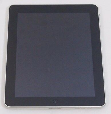 Used VERY GOOD Black Apple iPad 1st Generation 16GB Wi-Fi Only A1219 Tablet