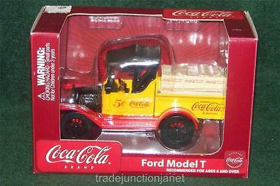 MIB GEARBOX COCA-COLA DIECAST FORD MODEL T BANK w/GOODYEAR RUBBER TIRES