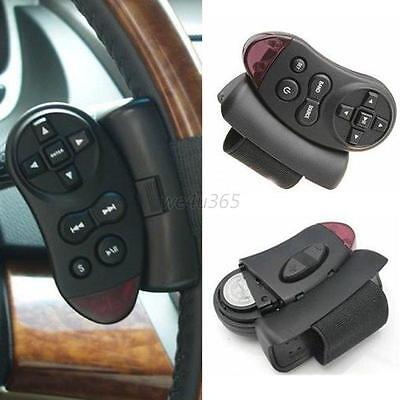 Car Universal Steering Wheel IR Remote Control for GPS CD VCD DVD TV MP3 Player