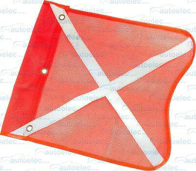 4X4 Equip High Vis Safety Replacement Genuine Desert Sand Dune Mining Flag Only