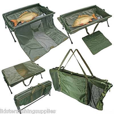 NGT Carp Cradle Protective Unhooking Mat Fishing 404 + Deluxe Floating Sling