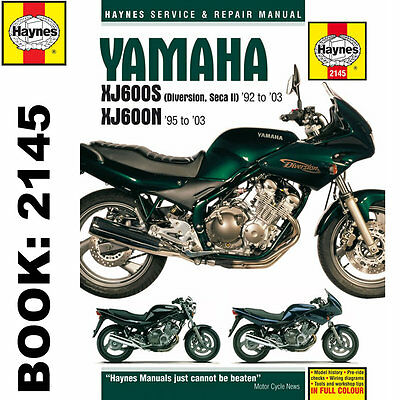 Yamaha XJ600S Diversion Seca II XJ600N Fours 1992-2003 Haynes Workshop Manual