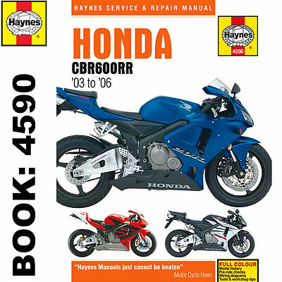Honda CBR660RR 2003-2006 Haynes Workshop Manual