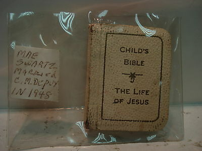 Vintage Child's Bible The Life of Jesus