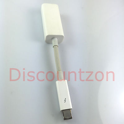Original Apple A1433 Thunderbolt Port to Gigabit Ethernet RJ45 NET Adaptor Cable