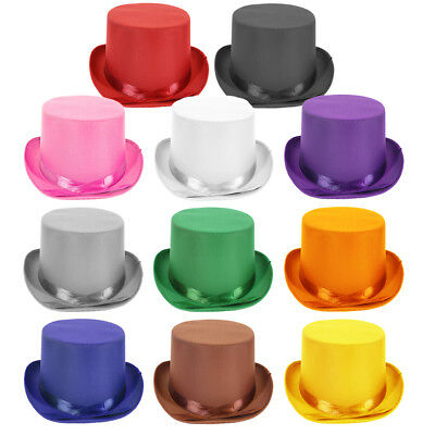 Choose Color Adult Dress Up Party Halloween Costume Head Accessory TOP Hat