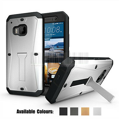 Heavy Duty Tank Armor Tough Shockproof Hard Case Protective Cover for HTC One M9