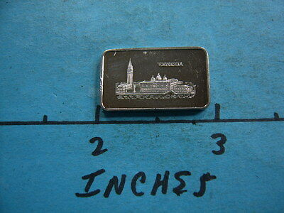 Pamp Suisse Venezia Italy Vintage 5 Gram 999 Silver Bar Coin Very Rare #2