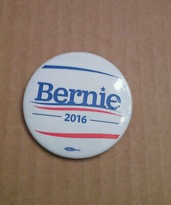 Official Bernie Sanders 2016 Presidential Candidate Pin DEMOCRAT PIN-BACK BUTTON
