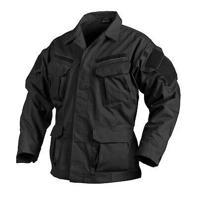 HELIKON TEX SPECIAL FORCES SFU NEXT Army Combat Tactical Jacke black schwarz