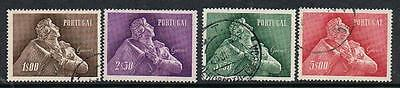 STAMPS PORTUGAL 1957 ALNEIDA GARRETT COMMEMORATION(FU/ USED) lot A84