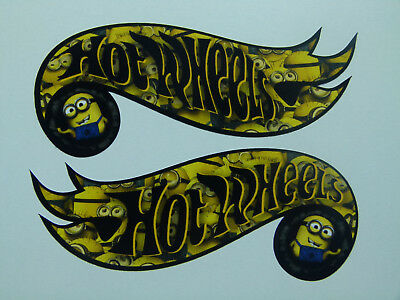 2x Comic Hotwheels Oldschool Aufkleber Stickerbomb Tuning Sticker JDM OEM USA