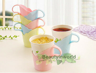 6pcs Paper Dixie Cup Holder Hot Coffee Tea Drink Grip Office Home Christmas