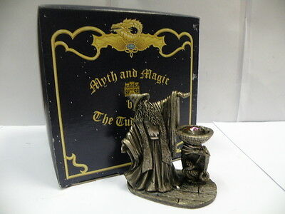Tudor Mint Myth and Magic Statue * THE SUPPLICATION * Metal Figure 3861 in Box
