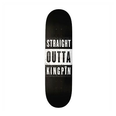 Kingpin Skate Supply Deck Straight Outta FREE GRIP FREE POST New Skateboard Deck