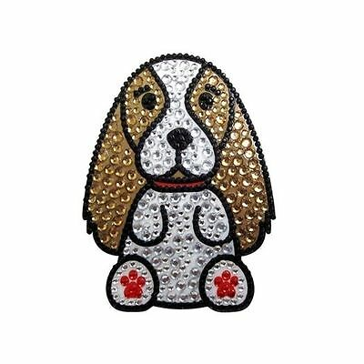 Cavalier King Charles Dog Rhinestone Glitter Jewel Phone Ipod Iphone Sticker Dec