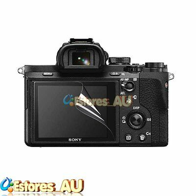 3 x Clear LCD Screen Protector Cover Skin For Sony RX10 RX1 RX1R RX100 I-IV A7M2