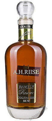 94,27€/l A.H. Riise Family Reserve Solera 1838 Limited Edition Rum 42% 0,7 l