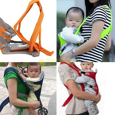 Newborn Infant Baby Carrier Backpack Front Back Rider Sling Comfort Kid Wrap Bag