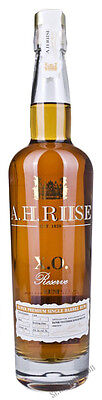 69,99€/l A.H. Riise X.O. Reserve Single Barrel Rum + GB 40% 0,7 l