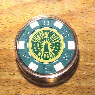 Dead Rising 2 Fortune City Poker Chip Card Guard - Green