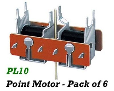 Peco Lectrics-Pl-10-Turnout Point Motor-Set Of 6-Look!!