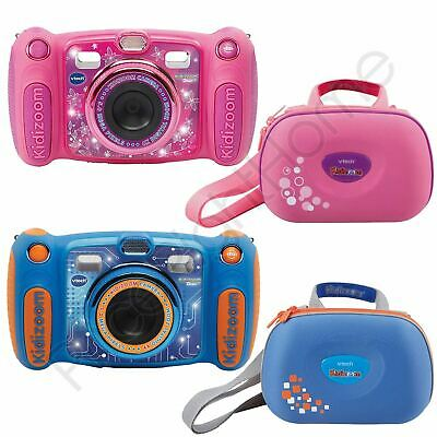 Vtech Kidizoom Duo Kids Digital Cameras In Blue And Pink Or Vtech Camera Cases