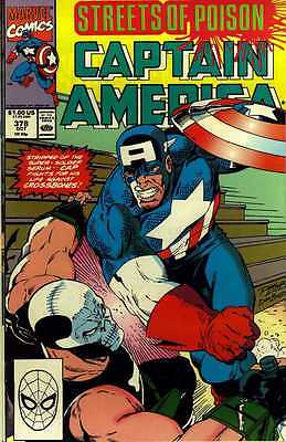 Captain America # 378 (Ron Lim) ('Streets of Poison') (USA, 1990)