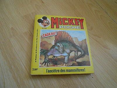 PETIT FORMAT BD MICKEY POCHE 56 + supplement toujours attache