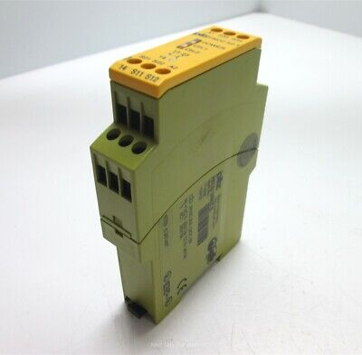 Pilz PNOZ X2.1 Safety Relay, 24VAC/DC, 2 N/O Safety Contacts