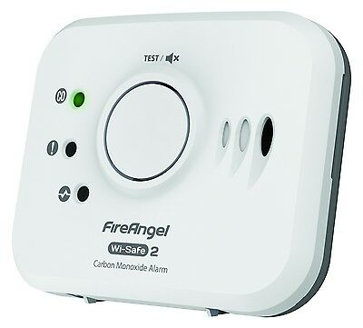 FireAngel Wireless Interlink Carbon Monoxide Alarm + 10 Year Life