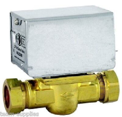 TOWER 28mm 2 TWO PORT MOTORISED ZONE VALVE 5 WIRE REPLACES HONEYWELL V4043H
