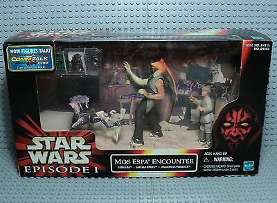 STAR WARS EPISODE 1 mos espa encounter Sebulba jar jar binks anakin skywalker