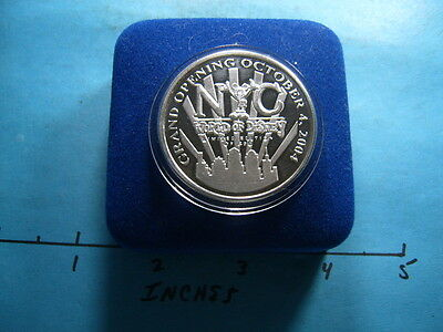 Mickey Mouse Disney World 2004 Nc Grand Opening Silver Coin Only 400 Minted Rare