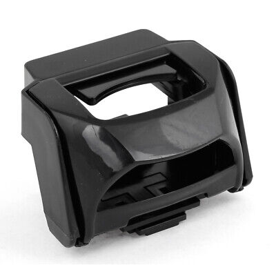 Black Adjustable Fold Cell Phone Bottle Cup Gear Clip Holder for Auto Car