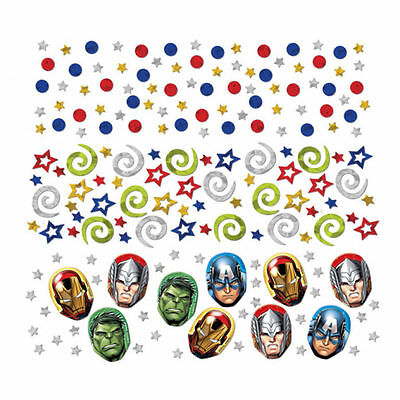 Large Pack Marvel Avengers Heros Table Confetti Party Table Decorations Supplies