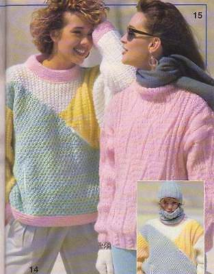Phildar #126 Incredible Winter Knits For Ladies&gents- English