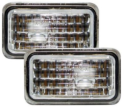 Vw Scirocco Mk2 81-92 Crystal Clear Chrome Side Repeaters Indicators