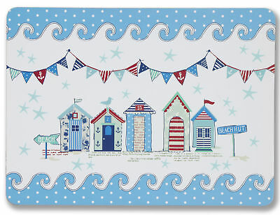 Cooksmart Beside the Sea Placemats Set of 4 Tablemat 29x21.5cm Table Place Mat