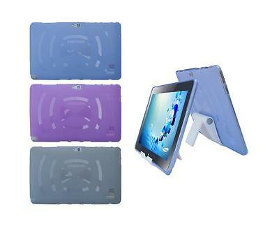 """View Stand Holder + TPU Skin Case Cover for Samsung ATIV Smart PC 500T1C 11.6"""""""