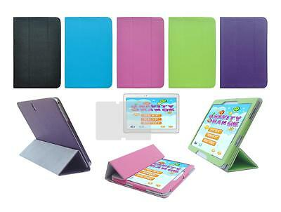 "Folio Cover Case and Screen Protector for Samsung Galaxy Tab Pro 10.1"" SM-T520"