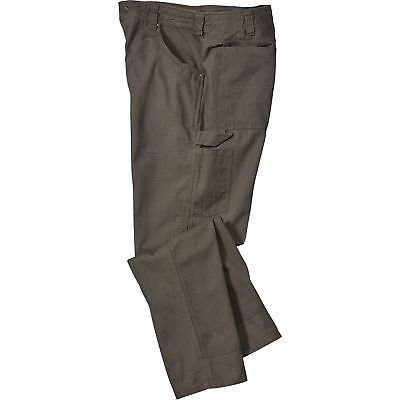 Gravel Gear Ripstop Carpenter Pant with Teflon - Moss, 34in Waist x 34in Inseam