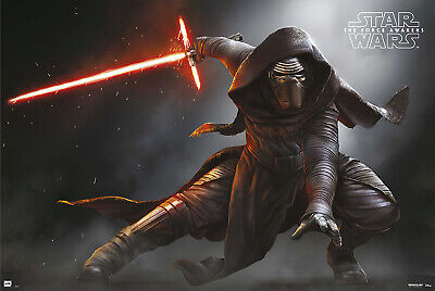 Star Wars: Episode Vii - The Force Awakens - Movie Poster (Kylo Ren - Solo)
