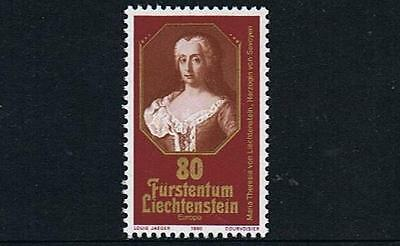 STAMPS   LICHTENSTEIN  1980  MARIA THERESIA  (MNH) lot J 25
