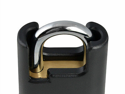 YALE Y121 HIGH SECURITY CLOSED SHACKLE BRASS PADLOCK - Various Sizes Of Padlocks