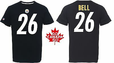 NFL Football T-Shirt PITTSBURGH STEELERS Le'veon Bell 26 Trikot Receiver